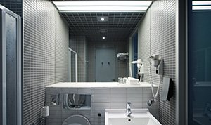 Wonderful bathroom mirror installation
