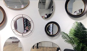 Variety of mirror shapes