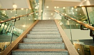Glazed stair balustrades